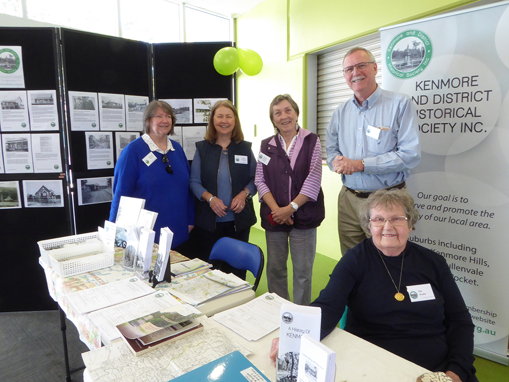 KDHS members at Kenmore South State School Fete