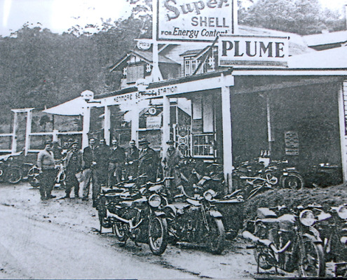 Kenmore's first service station 1938