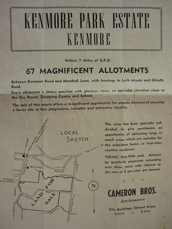 Kenmore Park Estate brochure