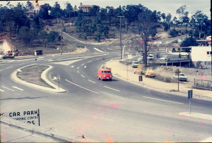 Kenmore roundabout 1960s