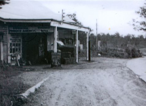 Produce Store – Moggill Rd near Marshall Lane Kenmore c 1960 (Courtesy Vi Hall)